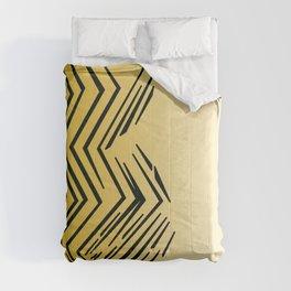 Design tiger Wild lines ethnic chocos Comforters