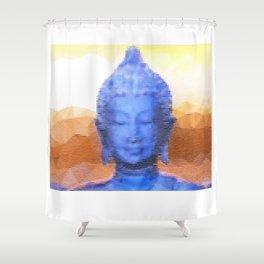 Mistic Buddha  Shower Curtain