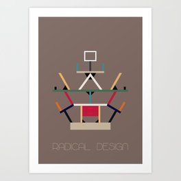 Radical Design Art Print