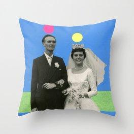 Suspect Couple Throw Pillow