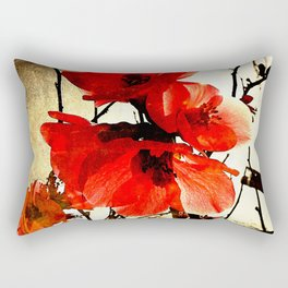 Spring Red 3, Royal Botanical Gardens - Melbourne Rectangular Pillow