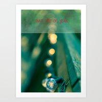 That Time of Year II Art Print