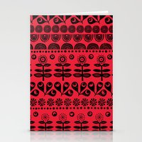 blanket Stationery Cards featuring Gran's blanket by Farnell