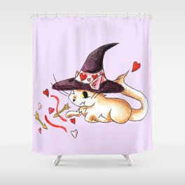 Salem Valentine Shower Curtain
