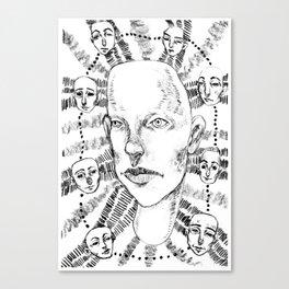 Multiplicity Canvas Print