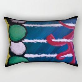 Human Nature Rectangular Pillow