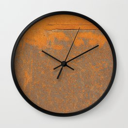 Iron and rust Wall Clock