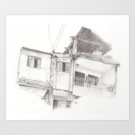 Power Lines II Art Print