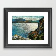 EYGENIA LOGVYNOVSKA, Seaside Framed Art Print