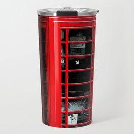 Red Phone Box- London England UK Travel Mug