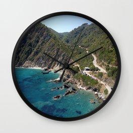 "Skopelos ""greek island""!!!!!!! Wall Clock"