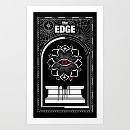 The Edge Art Print