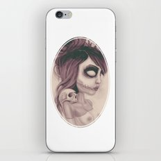 dearpain +Deathlike Skull Impression+ iPhone & iPod Skin