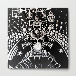 Black Book Series - New World Metal Print