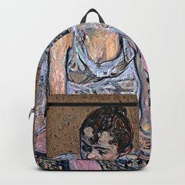 Dancer in Pink Tights Backpack