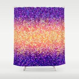 Glitter Graphic Background G106 Shower Curtain