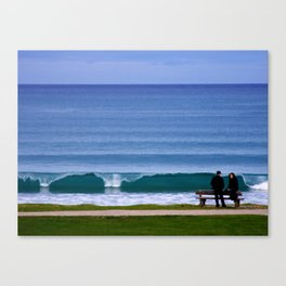 Wave Goodbye Canvas Print
