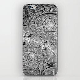 BW Fractal iPhone Skin