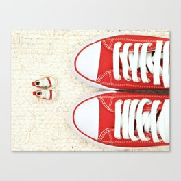 Big and Small Canvas Print