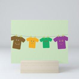 Hanging Tee Family Mini Art Print