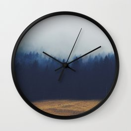 Misty Forest  2 Wall Clock