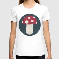 mushroom T-shirts featuring mushroom by Emma S