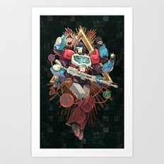 Shining Mind Art Print
