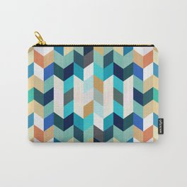 Colorful Geometric Background Carry-All Pouch