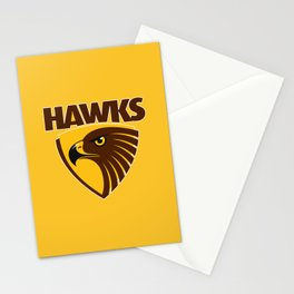 HAWKS AFL Stationery Cards
