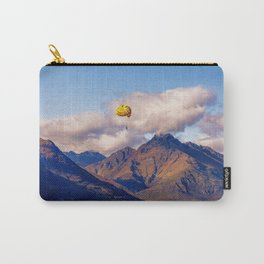 Parasailing on Wakatipu lake, Queenstown, New Zealand Carry-All Pouch