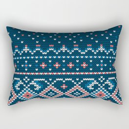 Pattern in Grandma Style #58 Rectangular Pillow