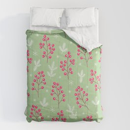 Berry Merry Holiday Pattern Comforters