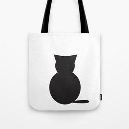 Graphi cat b&w Tote Bag