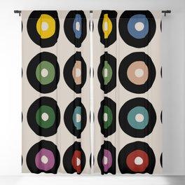Vinyl cream Blackout Curtain