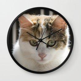 Molly, Portrait n. 4 Wall Clock