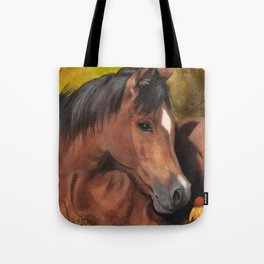 Little Brown Filly Tote Bag