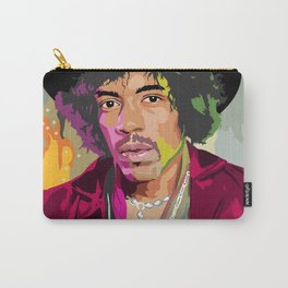 Jimi Hendrix Illustration Carry-All Pouch