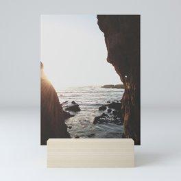 Shell Beach View Mini Art Print