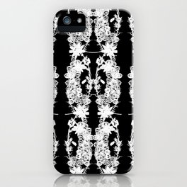 Black & White: Heather and Crystal Collection iPhone Case