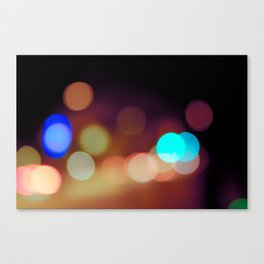 Dots & Colors Canvas Print