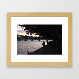 #ParisPostcards || In-seine-ly beautiful Framed Art Print