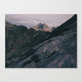 Triglav at sunrise Canvas Print