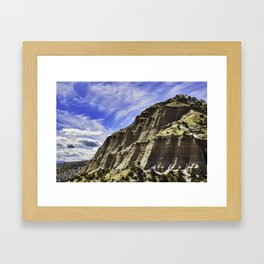 Tent Rocks 1 Framed Art Print