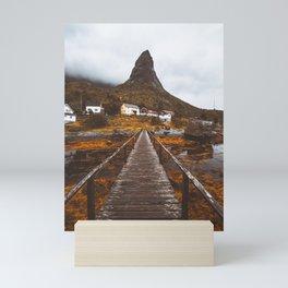 Magical Autumn Mountain  Mini Art Print