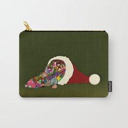 Santa's Cornucopia  Carry-All Pouch