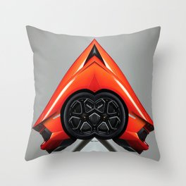Uber Ride Of The Future Throw Pillow
