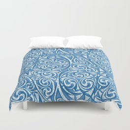 Celtic Warrior woad Duvet Cover