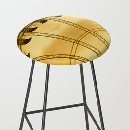 Carnival Cryptography Bar Stool