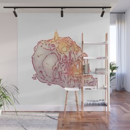 Incandescent Wall Mural