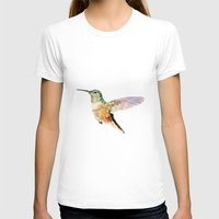 hummingbird T-shirts featuring Hummingbird by coconuttowers